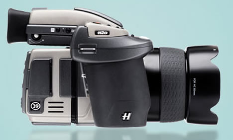 World's first 39 megapixel digital SLR camera from Hasselblad