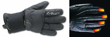 Zanier Heat-GX gloves to keep your fingers toasty