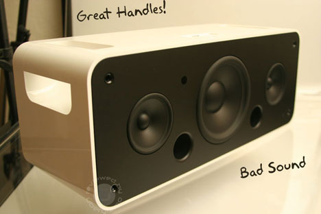 Apple Hi-Fi: Good Handles, Bad Sound