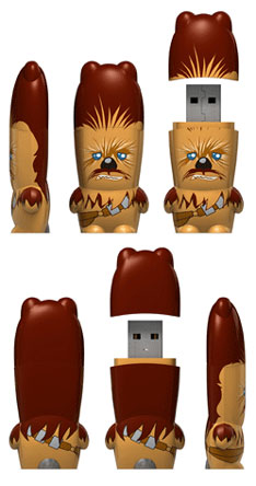Chewbacca comes in USB now