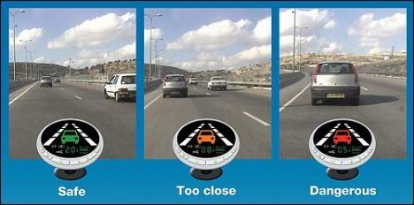 Mobileye keeps you on the road