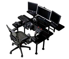 Gaming desk caters for every single need