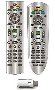 Windows XP MCE remote control