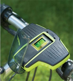MP3 player for bicycles
