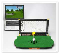 Golf Launchpad for stay-at-home golfers
