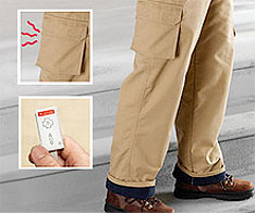 Dual-Zone Heated Cargos warms nuts