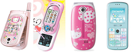 Invasion of the Hello Kitty cellphones