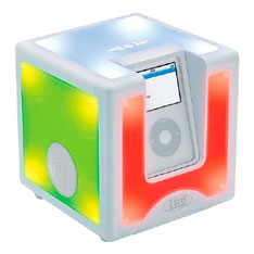Ixos Disco Cube grooves to iPod