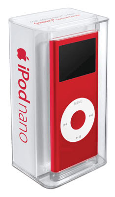 8GB red iPod nano model now available