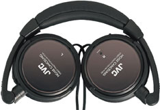 JVC HA-NC80 dual-mode headphones