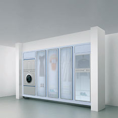 Laundry Wall concept from Whirlpool