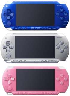 PSP rumored to come in new colors