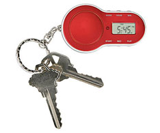 Parking Timer Keychain