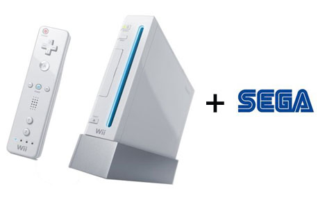 Sega launch titles on the Wii