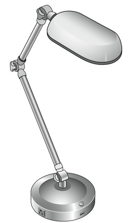 SI561 lamp comes with USB port