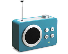 Dolmen Mini Radio simple & elegant