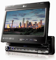 LG launches LAN-9600R GPS system