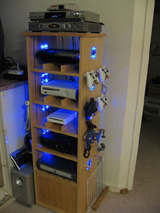 D.I.Y. gaming cabinet too cool