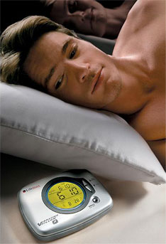 Vibrating Pillow wakes you up