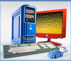 Build your very own Lego PC