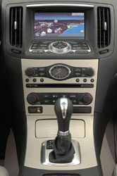 Nissan's 2007 Infiniti G35 ships with In-dash Hard Drive and Compact Flash