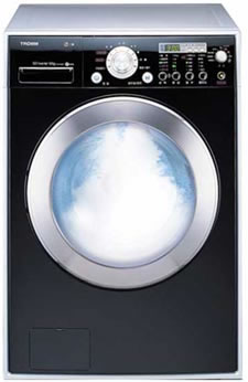 LG Tromm Steam Washer offers cleaner laundry