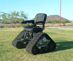 Tank Chair offers outdoor freedom to disabled