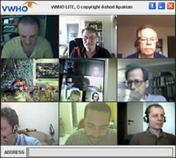 Experience 9 people Skype video conferencing with VWHO
