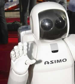 Telepathic Control research on Asimo