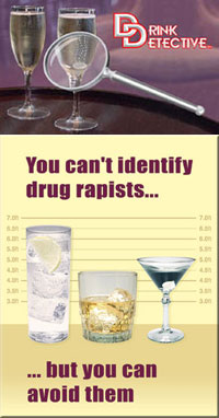 Drink Detective picks up date rape drugs