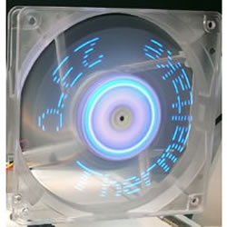Polo Tech unveils programmable spinning LED fan