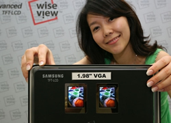 Samsung's new 1.98-inch LCD capable of VGA resolution