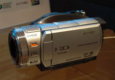 Sony unveils new HD-ready camcorders