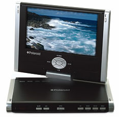 Polaroid PDJ-0793 portable DVD player