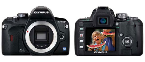 Olympus E-400 lightest, smallest dSLR