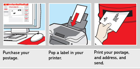 Print your own stamps
