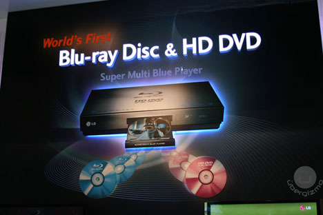 LG Blu-ray and HD-DVD Players