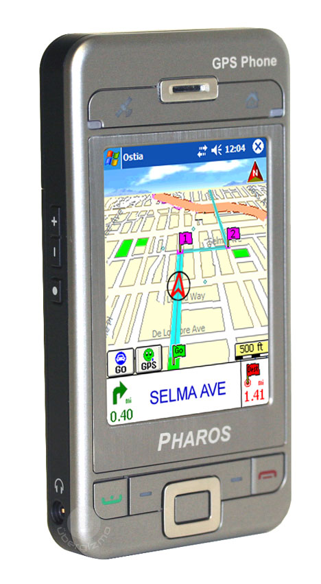 Pharos launches a GPS phone