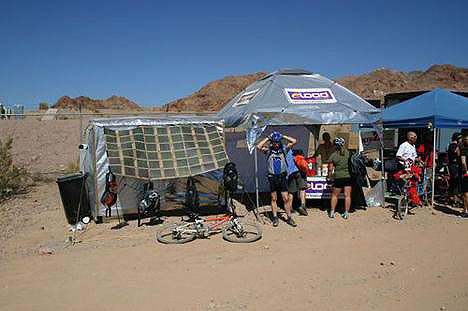 New Sun Tent cools surroundings