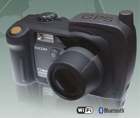 Ricoh 500SE Camera is GPS-equipped
