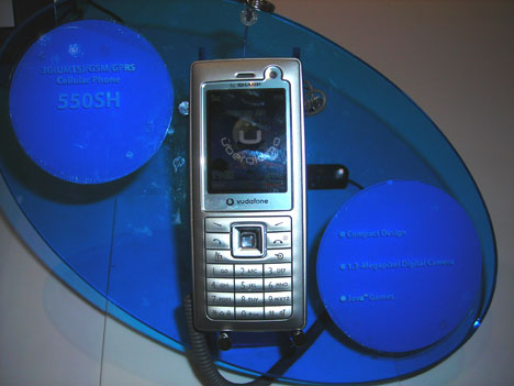 Sharp 550SH 3G phone