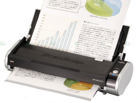 Fujitsu's ScanSnap S300 mobile scanner available in the U.S
