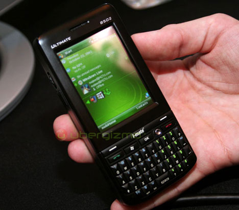 i-mate Ultimate 8502 Hands-On