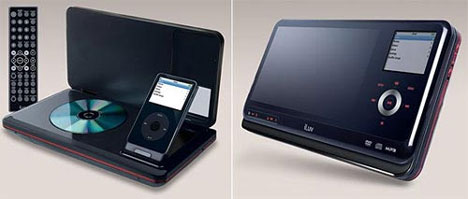 iLuv Portable Video MP3 and DVD Player