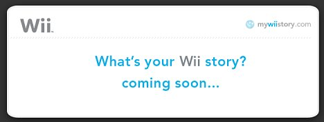 Wii owners share their special moments