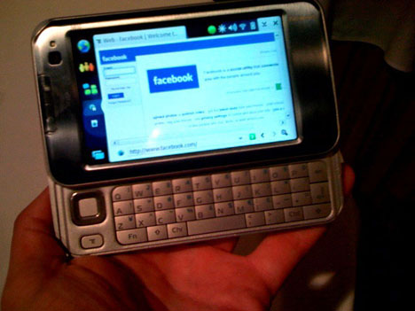 Nokia N810 Hands-On