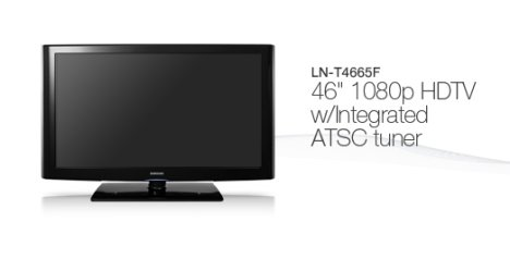 Nouvelle TV LCD Samsung LN-T4665F