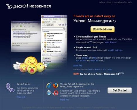 Yahoo IM gets new media features