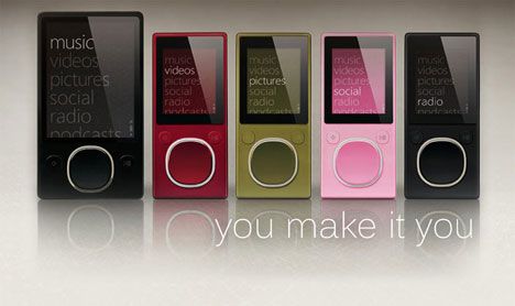 Microsoft launches the new Zune