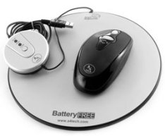 A4Tech battery-free wireless mouse